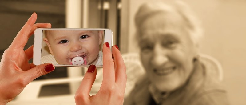 Desejo de Engravidar: Senhora sendo fotografada
